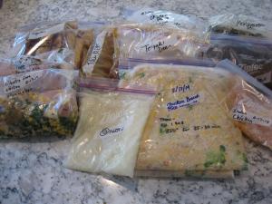 Freezer Cooking Bounty