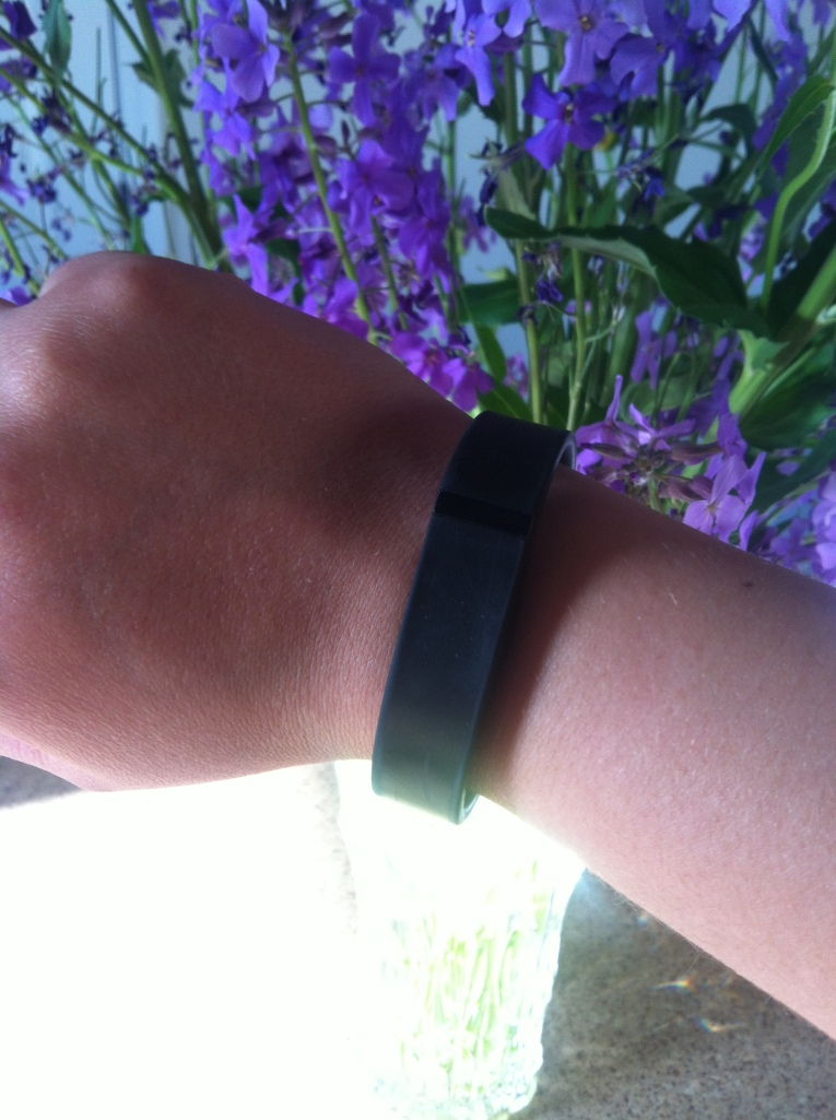 Fitbit in black
